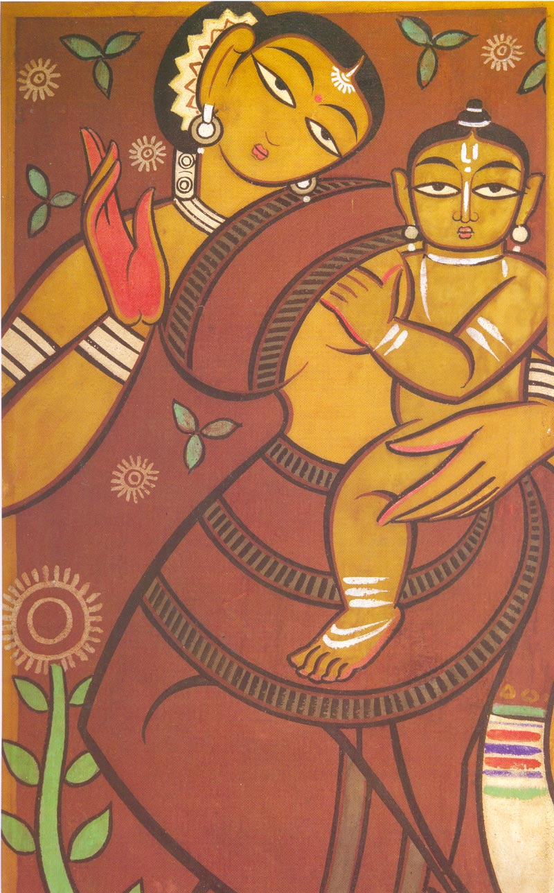 MINDSPEAK-VANDERLOOST: PAINTINGS OF JAMINI ROY
