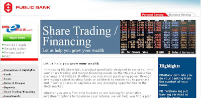 Online share trading public bank