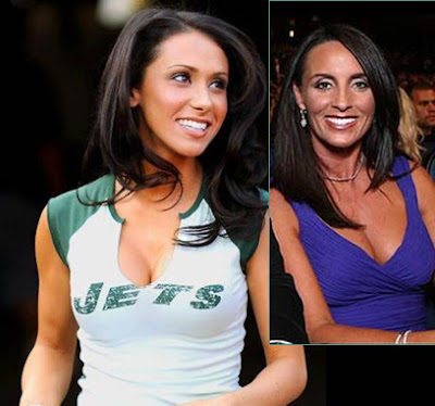 deanna favre and jenn sterger look a like!