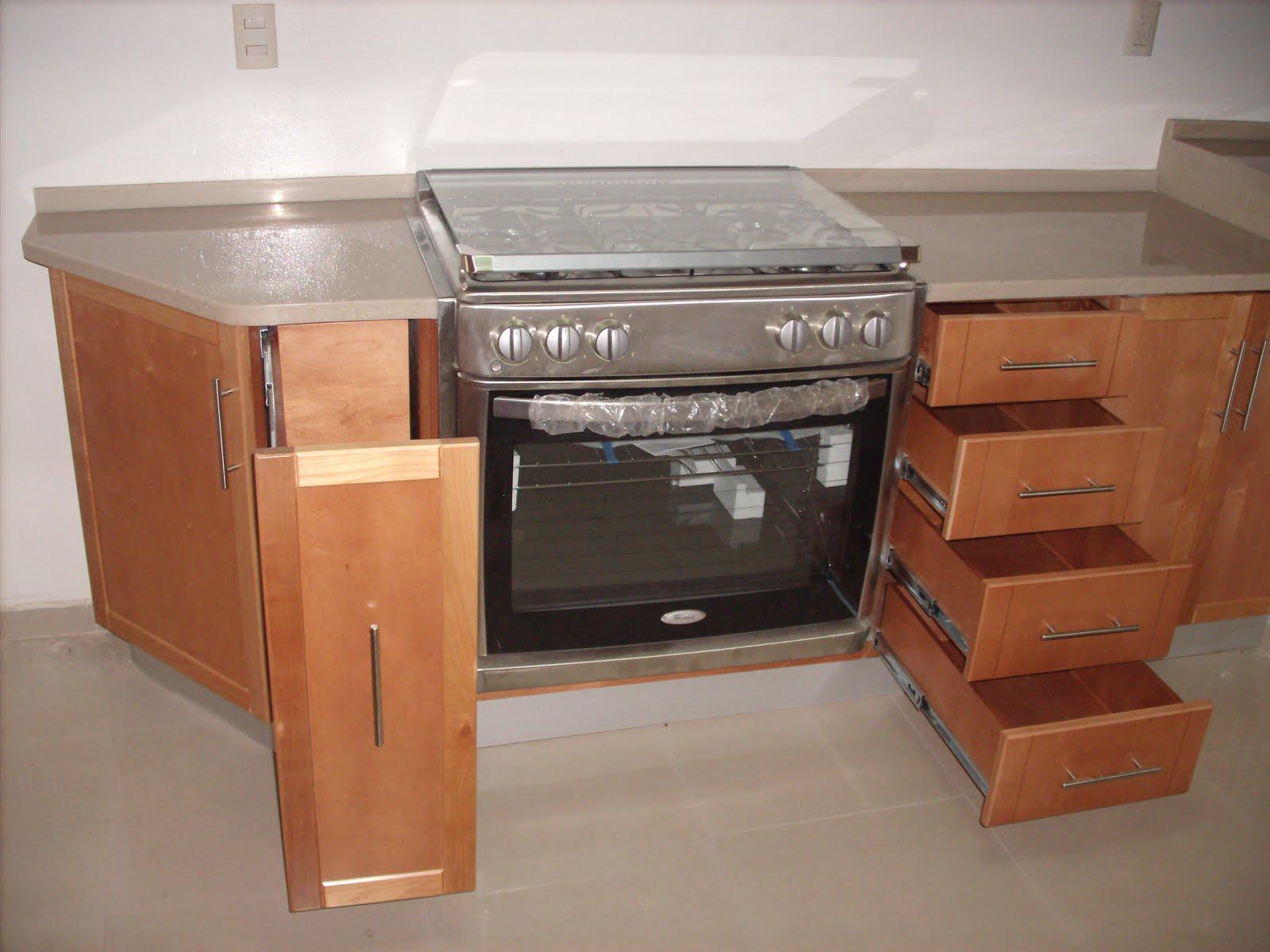 heynez cocinas modernas: Cocina en maple solido natural
