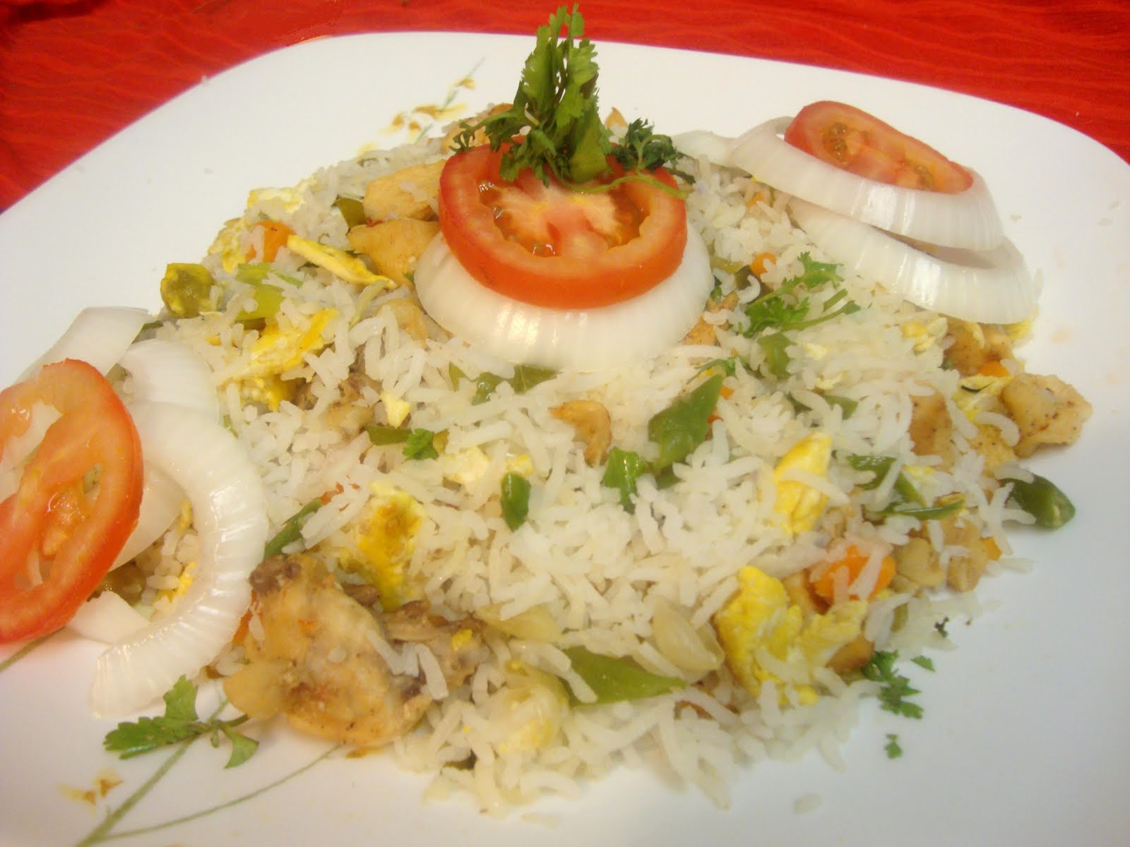 Flavors Of South India: Chicken Fried Rice
