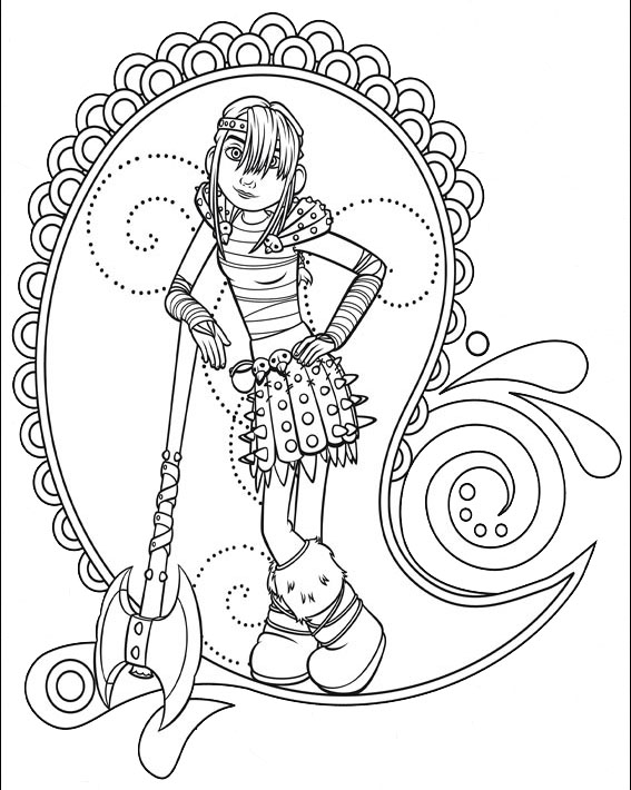 dragon 2 coloring pages - photo#23
