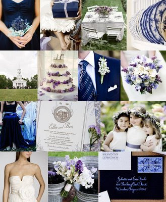 Color Navy Inspiration Project Wedding Forums