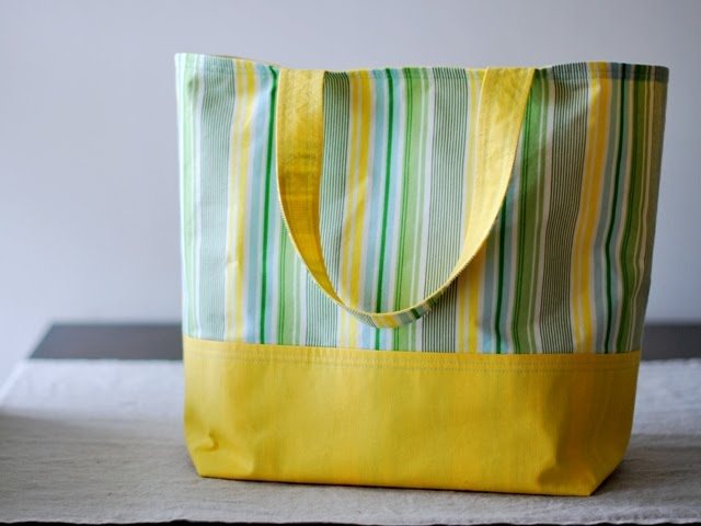 Free Pattern Features: Totes + Winner
