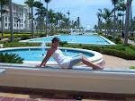 EN EL HOTEL RIU GRAN PALACE PUNTA CANA