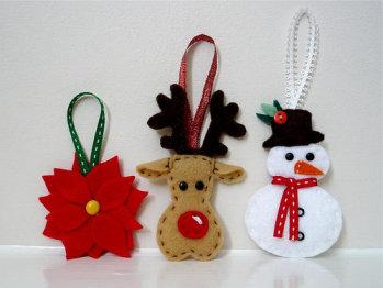 Atelier de yayi tomados de la red adornos e ideas para navidad - Manualidades para decorar el arbol de navidad ...