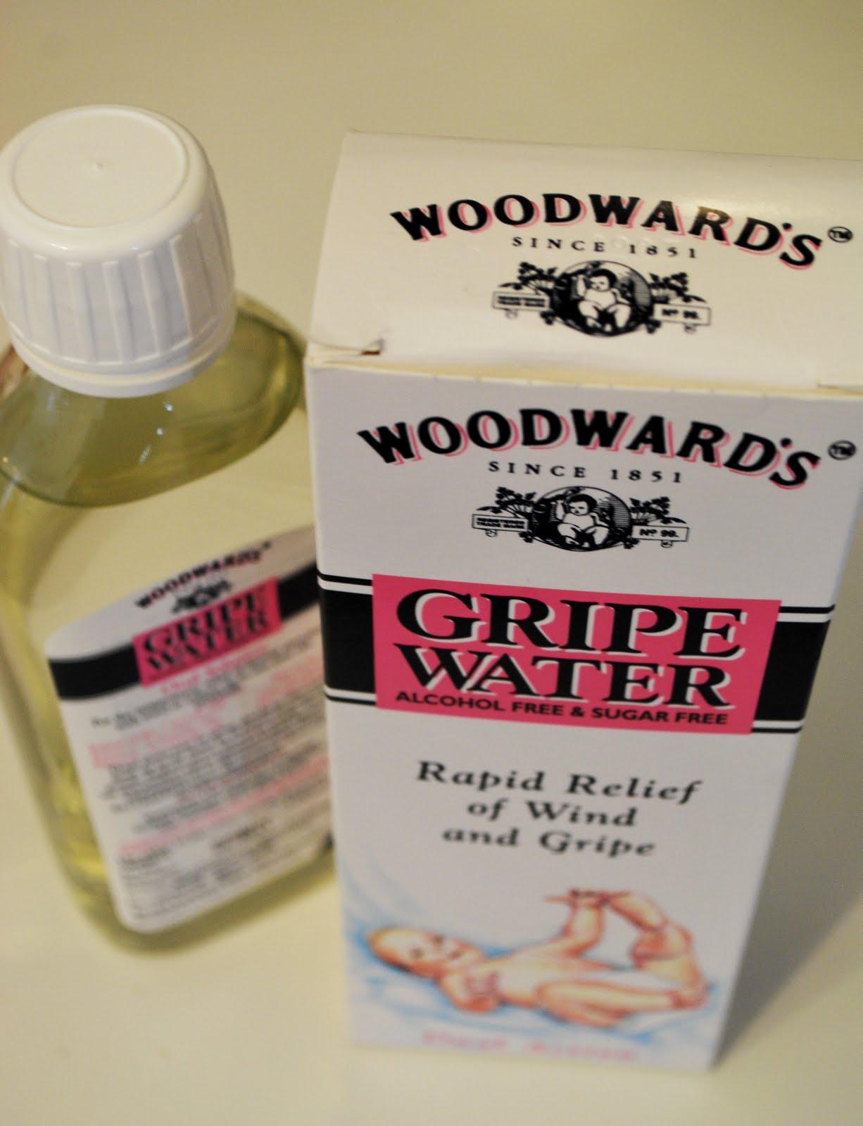 Smallesthings Gripe Water Woodwards