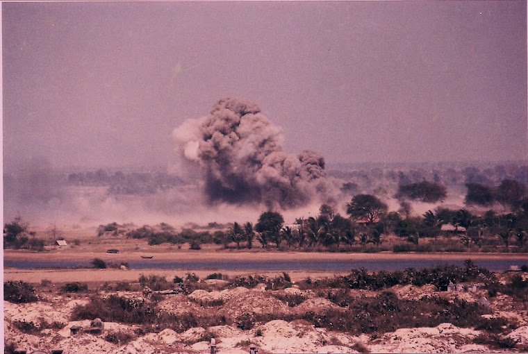 Air strike. Phan Thiet
