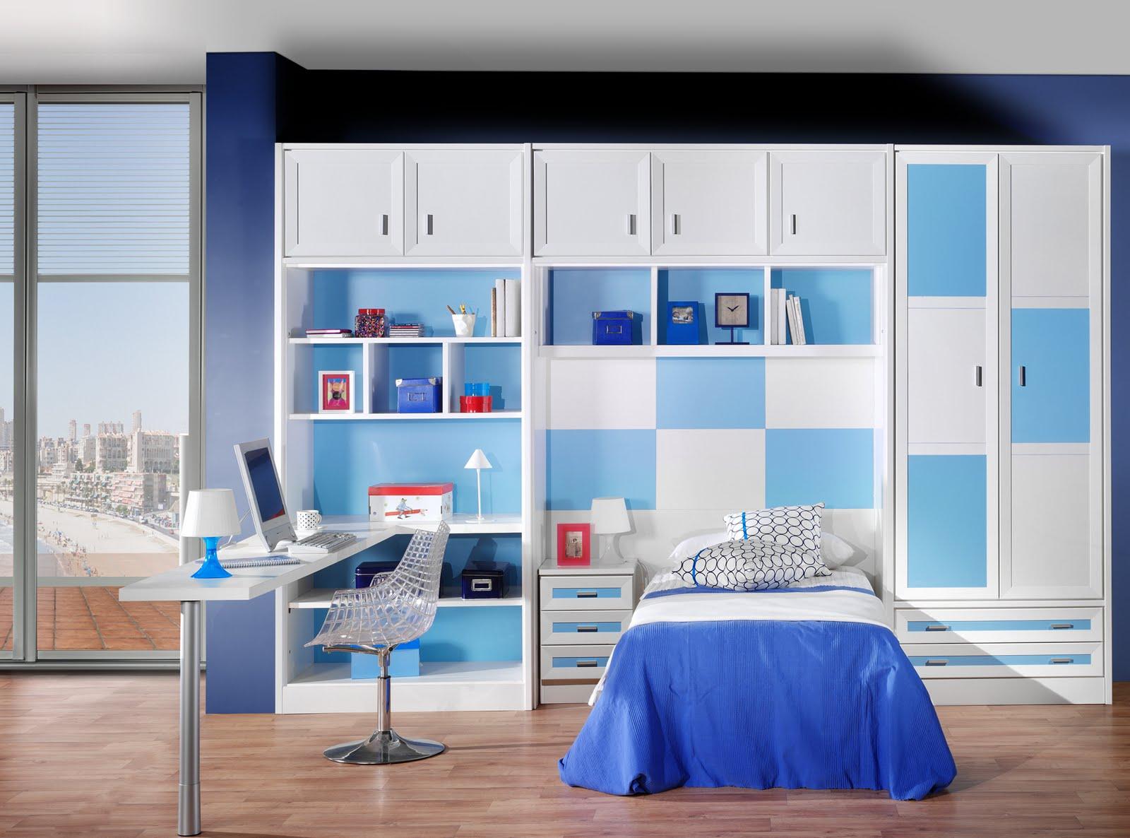Muebles eduardo tallero dormitorio juvenil con molduras for Muebles melamina