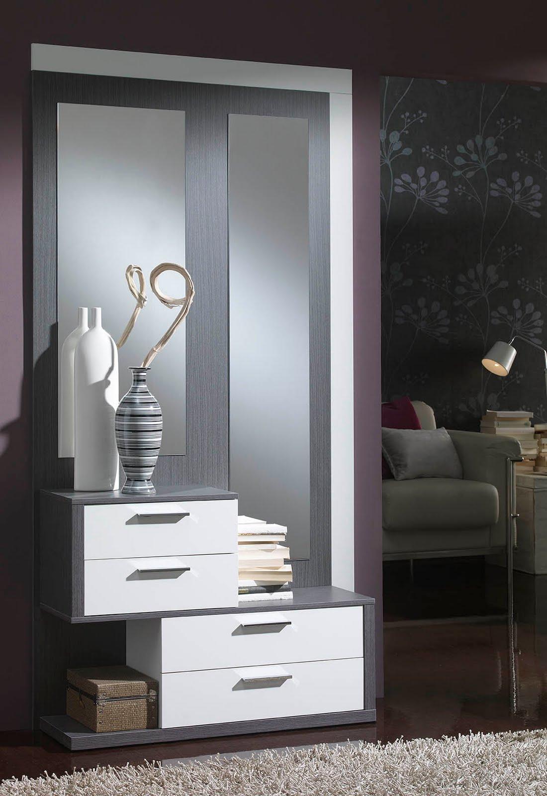 Casas cocinas mueble entraditas y recibidores - Muebles entraditas ikea ...