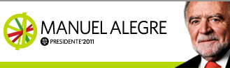 Manuel Alegre PRESIDENTE' 2011 - França