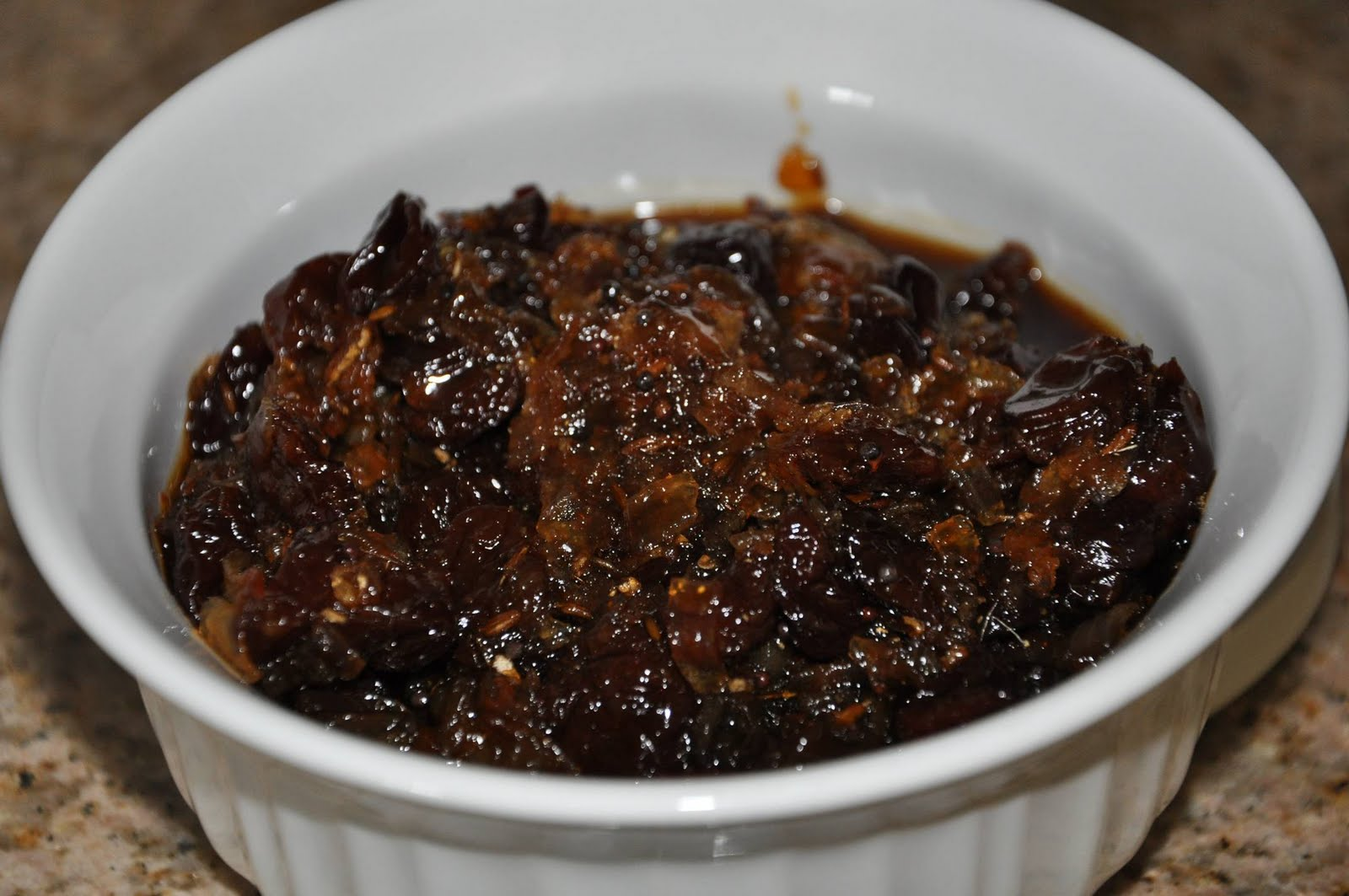 ... - Rajasthan A State in Western India: Dried Cherry and Onion Chutney