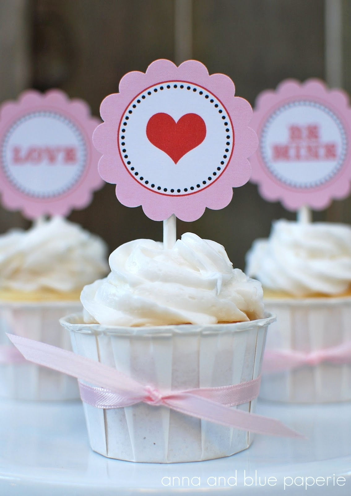 cupcake toppers free printable