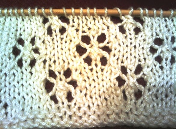 Snowflake Lace Knitting Pattern : . Knit So Simple: 2010 in Lace