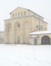 قرية عمر المختار تحت الثلج