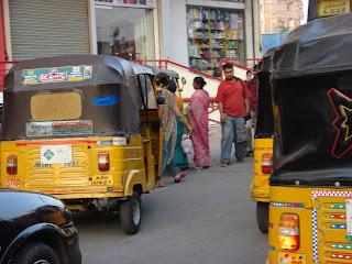 Traffic in Hyderabad