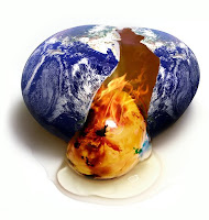 Earth on global warming...