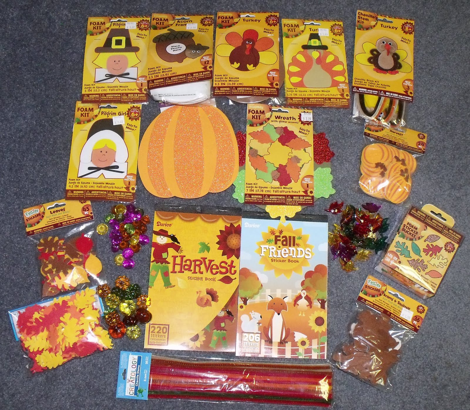 Nurturing naters with learning activities at home 2010 for November crafts for kindergarten
