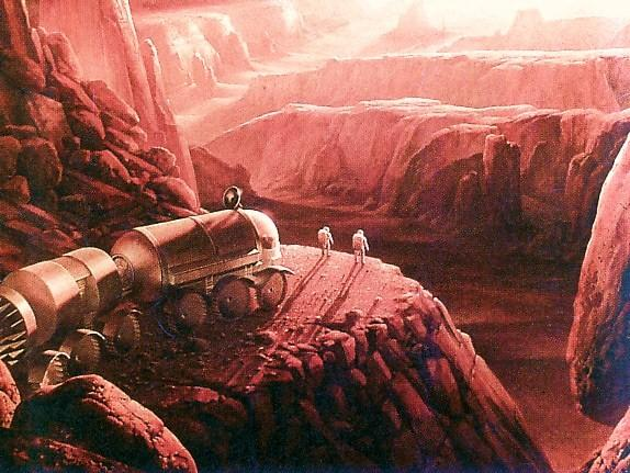 how to get onto the mars colony space x