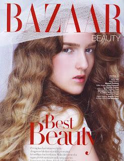 Sima Bazhanova for Harper's Bazaar Indonesia