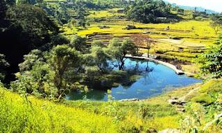 Baraha lake in Bhakunde