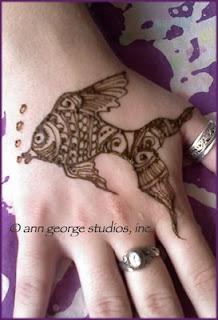 fish tattoo henna tattoo free hand