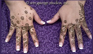 henna tattoo for the back of the hands