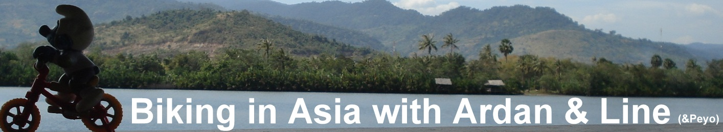 Biking In Asia with Ardan & Line