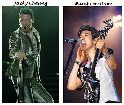 From left:Jacky Cheung & Wang Lee-Hom