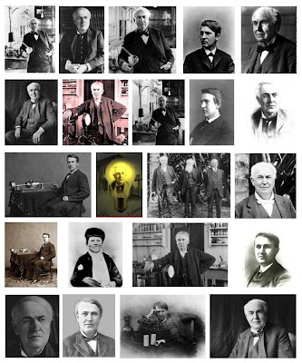 Many faces of Thomas Edison