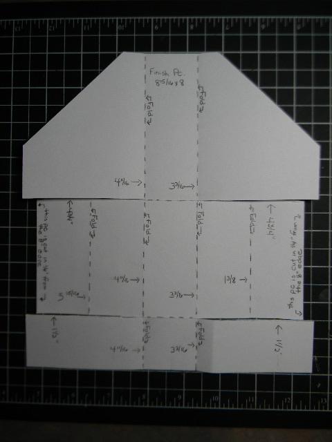 mini magazine holder template .