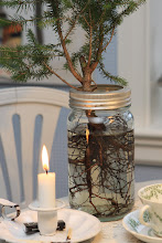 Minijuletre i Norgesglass