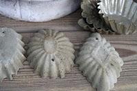 Støp sementkaker i sandkakeformer