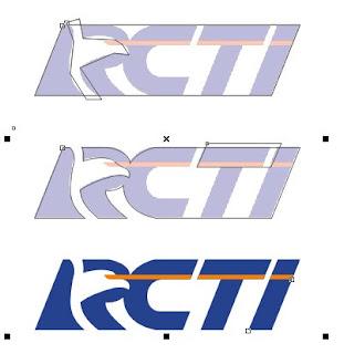 Tutorial Desain Logo RCTI