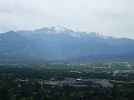 Colorado Springs from Palmer Park