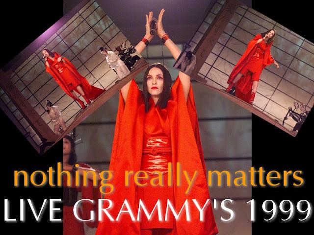 Madonna Grammys 1999 Matters Live Grammy 1999
