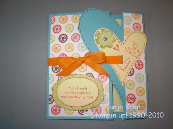 Geburtstagskarte Basteln Meine Beste Freundin