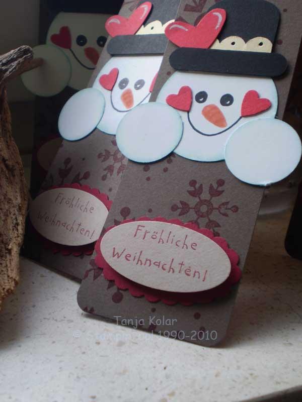 Selbstgebastelte Lesezeichen Und Weihnachtskarten Kreativ Mit