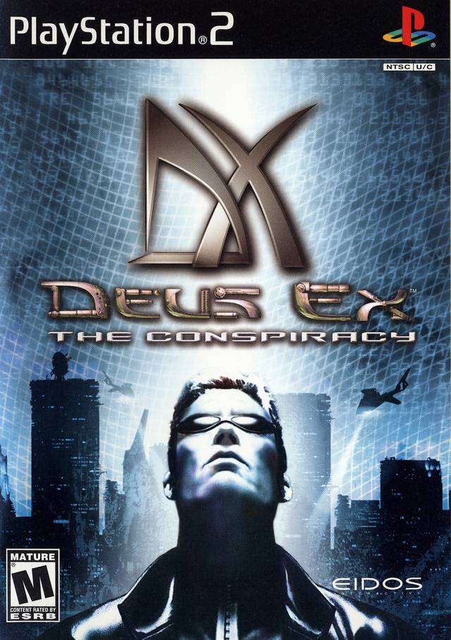 Torrent Super Compactado Deus Ex The Conspiracy PS2