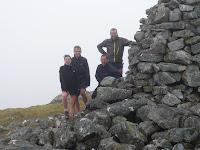 Summit of Beinn a'Chuallaich