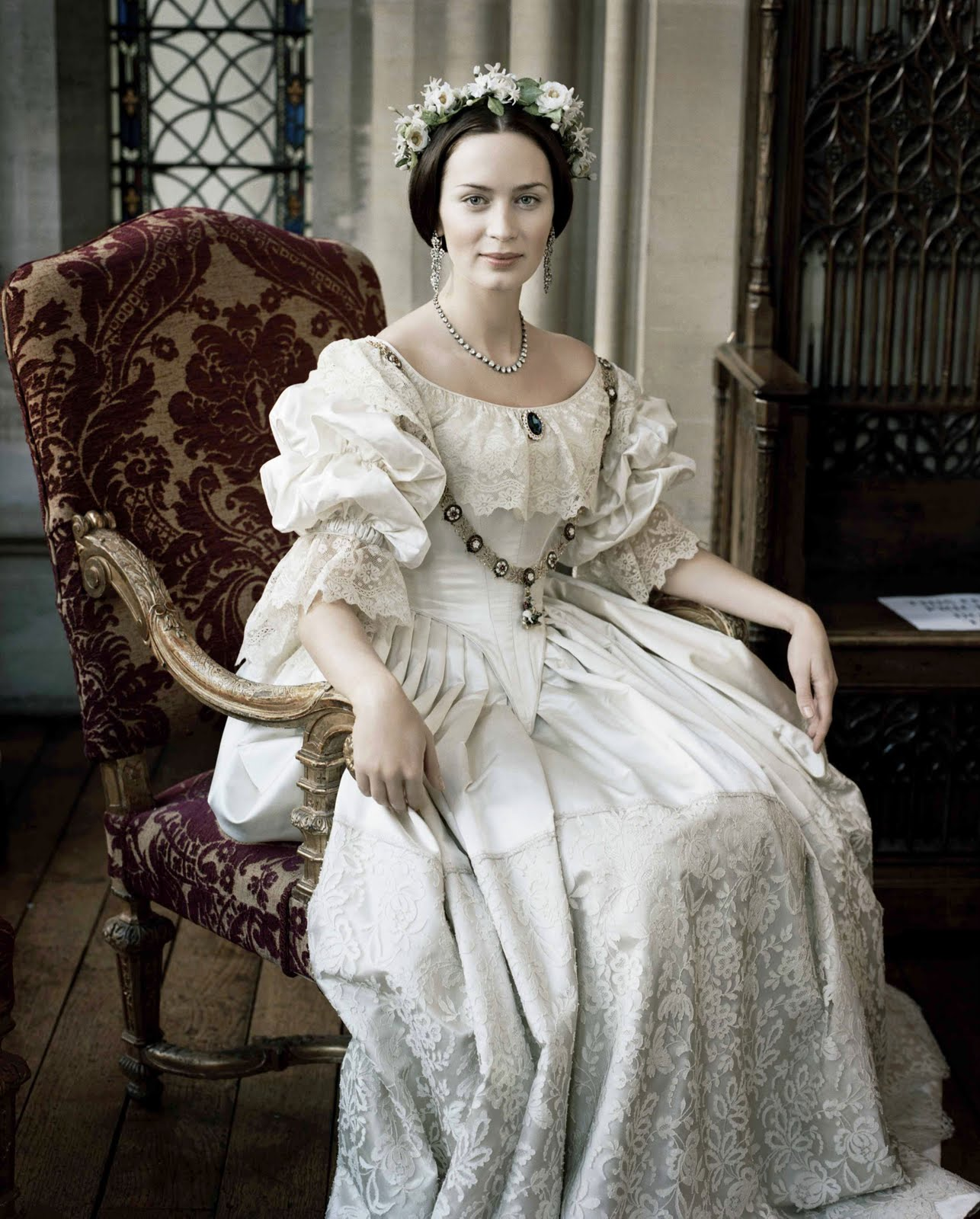 Sprigged Muslin: Fashion in Film: The Young Victoria