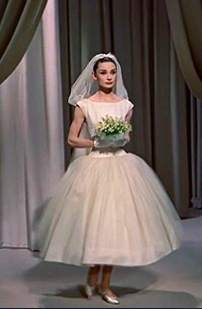 audrey hepburn wedding dress funny face kullee