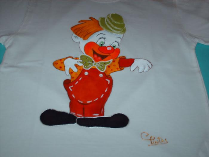 T-shirt palhacinho