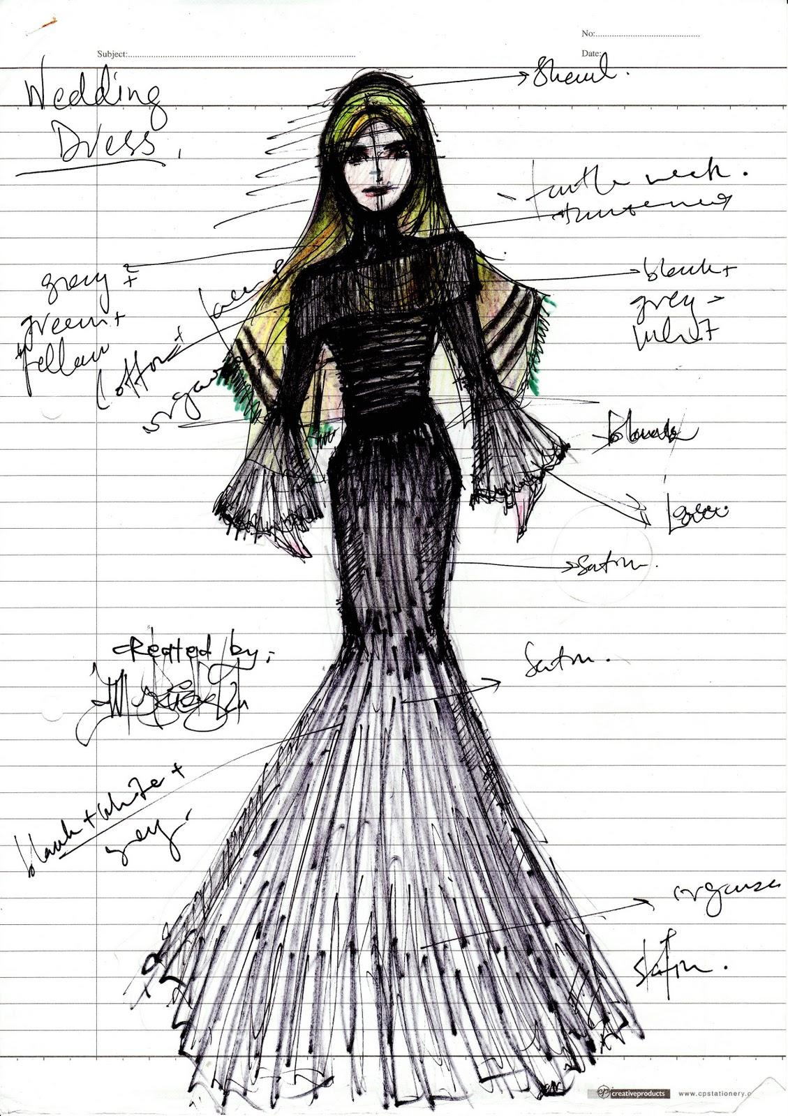 Black dress inspired by versace inspired by el saab blue wedding dress