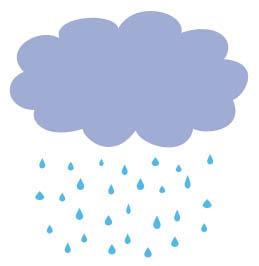 animasi hujan