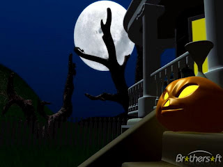 Dark Halloween Night Download Theme