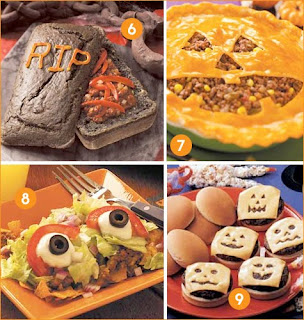 Halloween Party Food Wallpaper