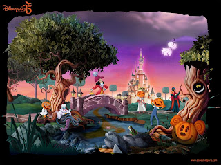 Disneyland Halloween Wallpaper