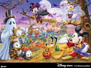Free Disney Halloween Wallpaper