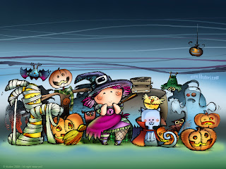 Download Trick Or Treat Halloween Wallpaper